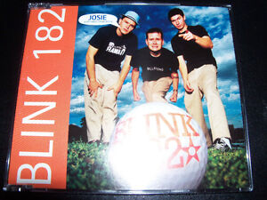 Blink-182-Josie-Rare-Australian-5-Trak-CD-E-P-including-Rare-Live-Tracks