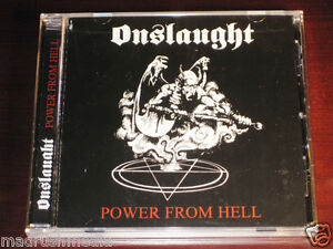 Onslaught-Power-From-Hell-CD-2008-Candlelight-Records-Reissue-CDL0277CD-NEW