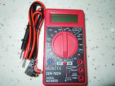 7 Function Digital Multimeter Tester NEW in package CEN-TECH #98025 MULTI-TESTER