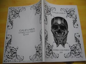 damien voss friesz remember death tattoo sketch flash skull art book vol 3. Black Bedroom Furniture Sets. Home Design Ideas