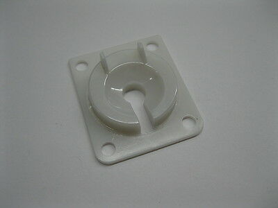 New Pinball White Eject Kickout Hole Base Plate Shield Insert for Williams Bally