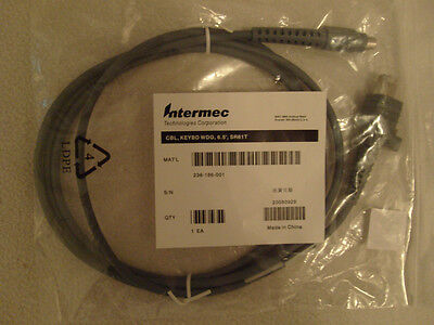 Intermec 236-186-001 Scanner Cable Ps/2 (mini-din) [cbl, Keybd Wdg, 6.5', Sr61t]