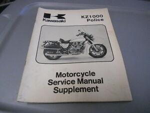 Kawasaki kz1000 police Repair Manual