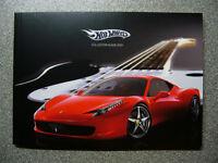 """HotWheels / ELITE Katalog """"Collectors Guide 2010"""" Ferrari NEU Berlin - Wilmersdorf Vorschau"""