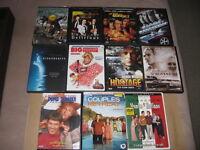DVD's à vendre en lot ou séparément