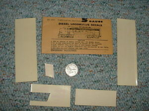 Enhorning-decals-S-Gauge-Diesel-Locomotive-Burlington-Northern-A34