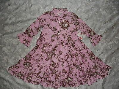 So Pretty Girls Boutique Chatti Patti Ruffle Dress Size 3 / 3t