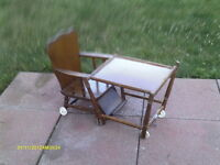 High Chair Antique