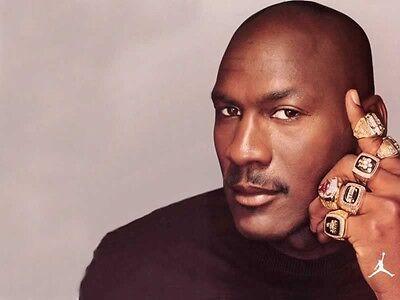 Michael Jordan All Championship Rings Nba Basketball 8x10 Photo Chicago Bulls