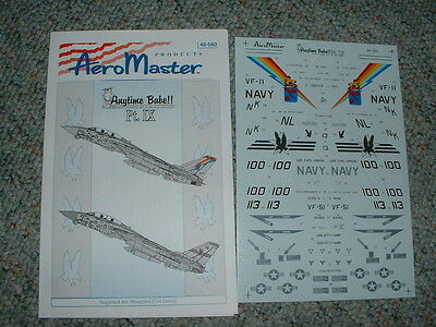 Aeromaster Decals 1/48 48-560 Anytime Babe Part Ix Ee