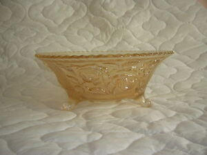 Antique Imperial Open Rose Carnival Glass Bowl Kingston Kingston Area image 3