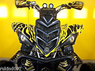 Yamaha Raptor 700/450/350 YELLOW EYE'S HeadLight Covers RuKind ORIGINAL t