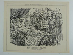 PUNCH-cartoon-1908-THE-SLEEPING-BEAUTY-what-every-woman-knows