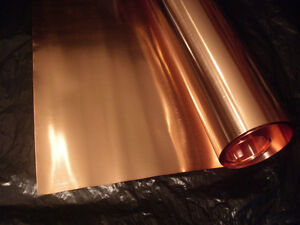 COPPER Sheet Metal Tooling Foil 12