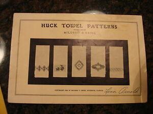 1940-Third-Series-HUCK-TOWEL-PATTERNS-by-Mildred-Krieg