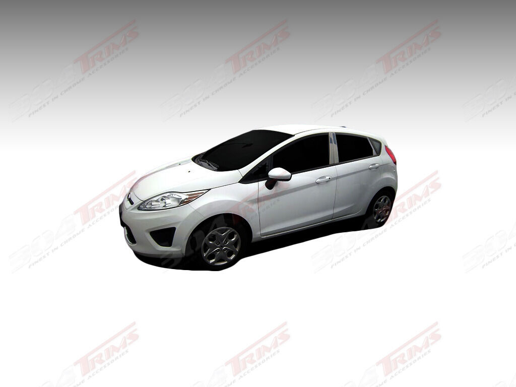 Разное FORD FIESTA HATCHBACK 2011-2012 8PC CHROME PILLAR POSTS