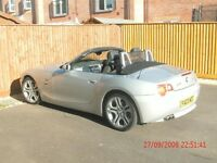 VERY LOW MILEAGE MINT CONDITION BMW Z4 CONVERTIBLE IN SILVER