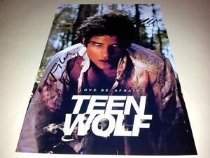 TEEN-WOLF-CAST-X2-PP-SIGNED-POSTER-12-X8-TV-SERIES-TYLER-POSEY