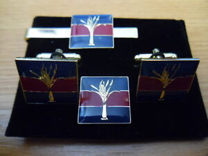 Welsh-Guards-on-TRF-Cufflink-lapel-pin-tie-slide-set-Household-Div-Foot-Leek