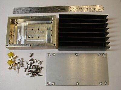 Rf Power Amplifier Housing Kit With Heatsink Used For Mpa Series