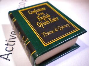 Del-Prado-miniature-book-Confessions-of-an-English-opium-eater-Thomas-De-Qui