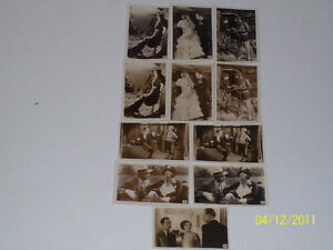 R J HILLS SCENES FROM THE FILMS - A SERIES OF 50 - 8 MINT CARDS - RARE!