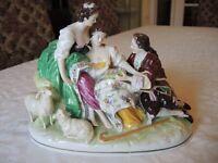 Vintage German Porcelain Figurine Scheibe-Alsbach