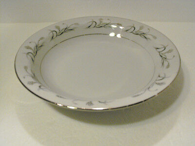 HARMONY HOUSE CEREAL SOUP BOWL  PLATINUM GARLAND  FINE CHINA  #3541