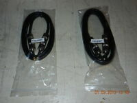 PHONO CABLES 3' AND 6'