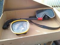 SCUBA SWIMMING MASK WITH SNORKEL FOR YOUTH