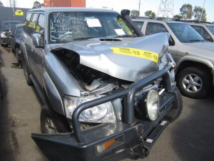 WRECKING NISSAN PATROL Y61 3.0 *ALL PARTS IN STOCK*OFFERS WELCOME Brooklyn Brimbank Area Preview