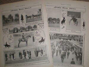 Printed-photos-The-Dublin-Horse-Show-Ireland-1903