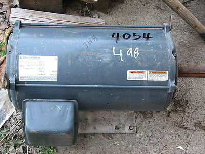 Marathon 20 HP Motor -#  H625 - 200 V - 256T - 1750 RPM - DP - Used