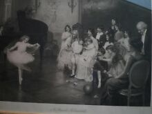 ORIGINAL~A PRIVATE REHEARSAL~Signed Arthur J.Elsley~date1914 Wagga Wagga Wagga Wagga City Preview