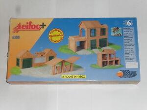 Kit pour construire garage maison avec une terrasse teifoc 6300 ebay - Jeux de construire une maison ...