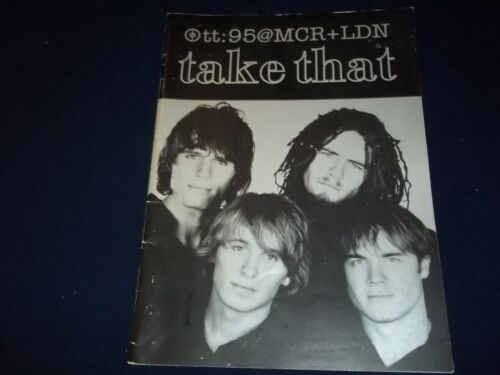 1995 TAKE THAT TOUR BOOK - UK - GREAT PHOTOS - II 7906