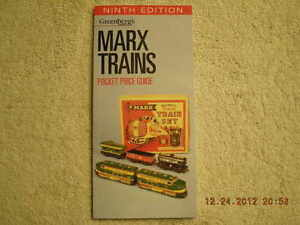108910-Greenbergs-Marx-Trains-Pocket-Price-Guide-Brand-New