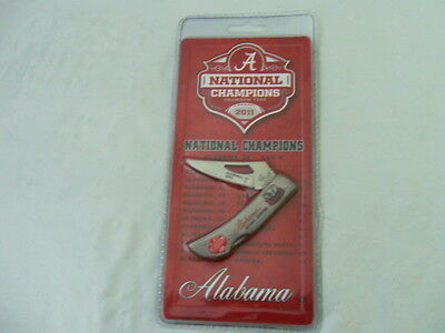Alabama Crimson Tide 2011 National Championship Knife Frost Cutlery Nip