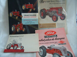 Wanted sales catalogs of tractors, trucks, industrial vehicles