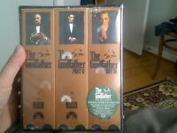Godfather box set on VHS. never opened!!!