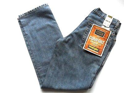 Wrangler Jeans Men's Ohio Comfort Fit Zip Fly Stonewash Sizes: 28 & 30