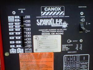 Canox constant current ac/dc Arc Welder