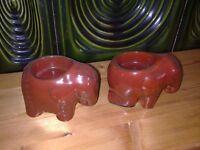 2 Partylite Kerzenhalter Elefanten Teelicht Dresden - Klotzsche Vorschau