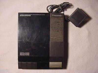 Panasonic Easa Phone Answering Machine Model KX T1424 w/dual cassettes