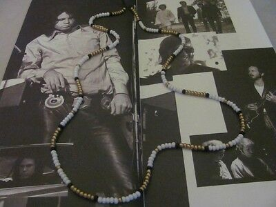 Jim Morrison Cobra Necklace™/Golden God of Rock/1967 Young Lion bead necklace
