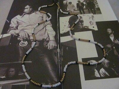 Jim Morrison Cobra Necklace™/Golden God of Rock/1967 Young Lion bead necklace