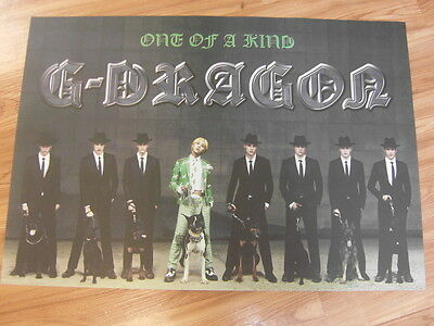 G-DRAGON - ONE OF A KIND [ORIGINAL POSTER] *NEW* K-POP BIGBANG