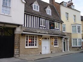 St Mary's Vaults, Stamford, Lincs. Live in joint management couple required