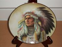 Decorative Plates - First Nation Chiefs