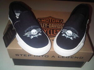 Harley Davidson shoes Youth size 10